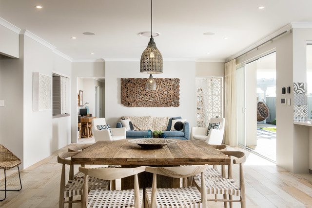 The Hampton Beach Beach Style Dining Room Perth By
