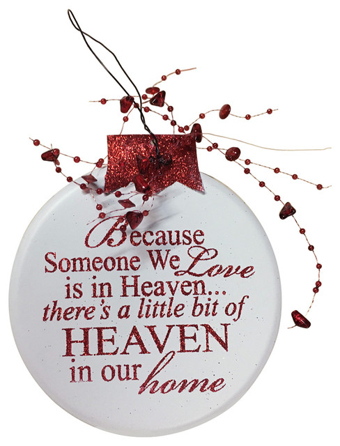 Download Wooden Hearts - Ornament Angel Red Because Someone We Love ...
