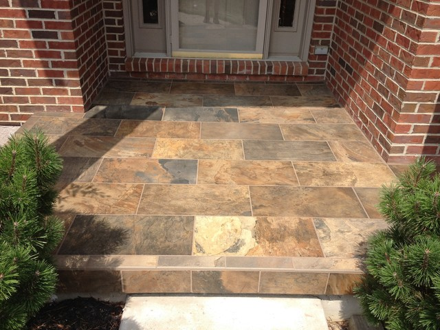 Outdoor Porch Tile Tile Design Ideas