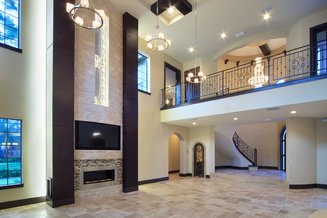 The Modern Mediterranean Home Contemporary Living Room