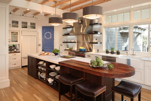 Observatory Park Contemporary Kitchen
