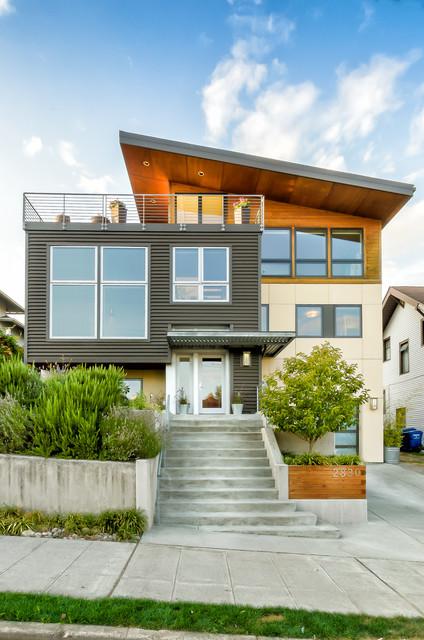 Ballard Remodel Modern Exterior Seattle By