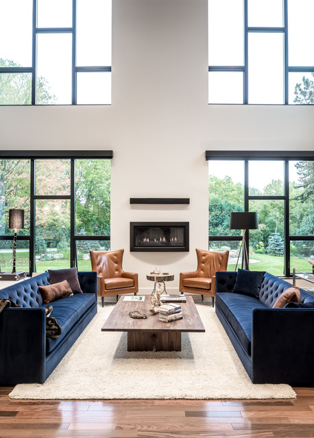 Modern New Home - Ground Up contemporary-family-room