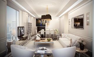 Showroom Modern Living Room New York By Home
