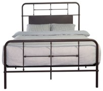 Emerald Home Metal Bed