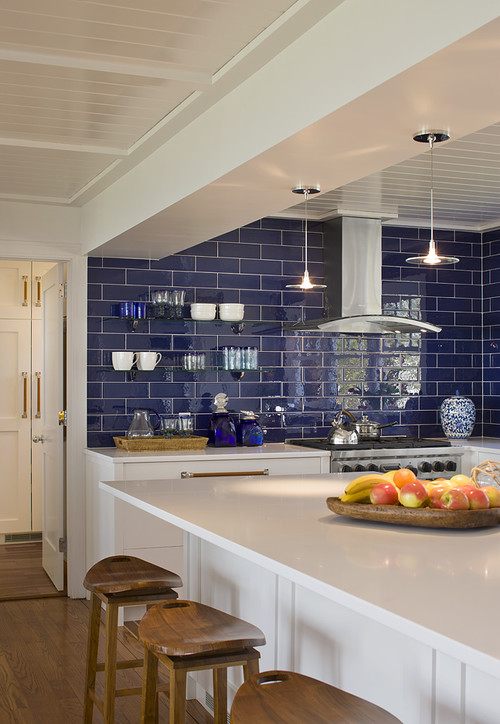 Coastal Contemporary Kitchen Renovation