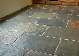Slate laminate flooring Best laminate wood flooring next to this slate entry