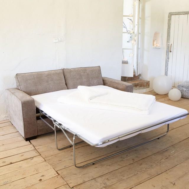 California Canape Convertible 2 Places En Tissu Contemporaneo Salon Otras Zonas De Alinea