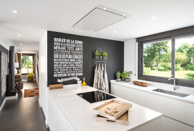 Casa unifamiliar Alella nordico-cocina