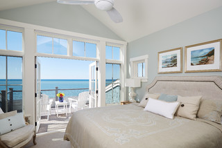 Lakefront Living VI beach-style-bedroom