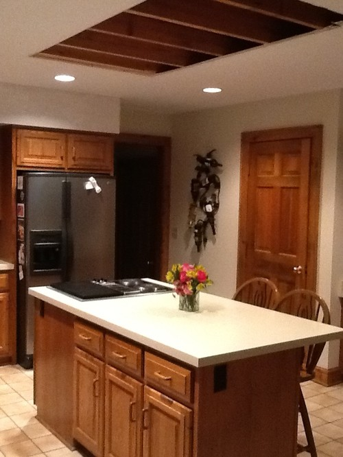 Fluorescent Light Fixtures Kitchen