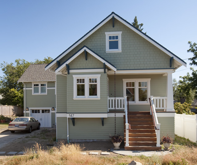 Greenlake Custom Home craftsman-exterior