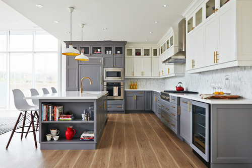 Hot Home Trend to Watch: The Two-Toned Kitchen - South ...