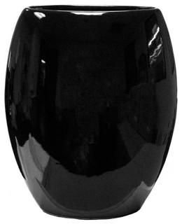 Elton Vase Large, Black