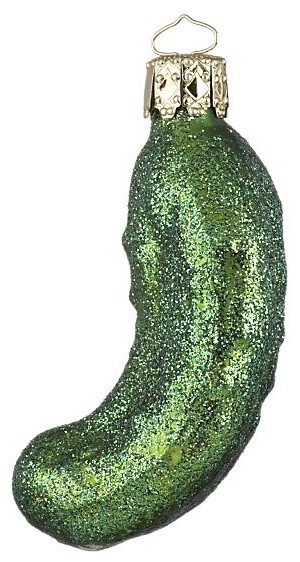 green ornament christmas pickle story - Christmas Pickle Story