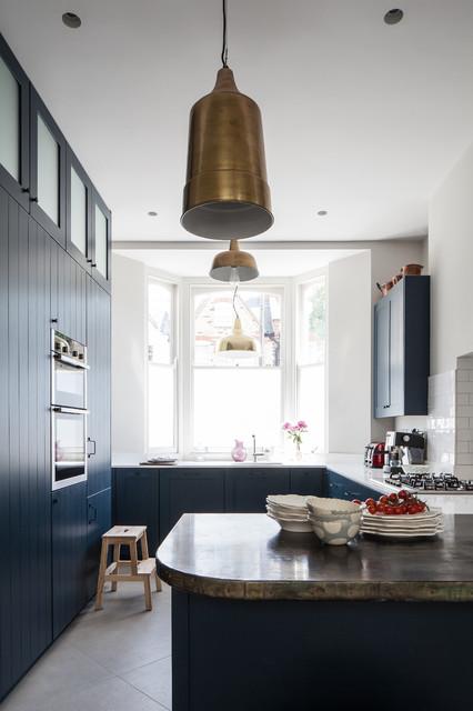 House Refurbishment & Extension, Highbury transitional-kitchen