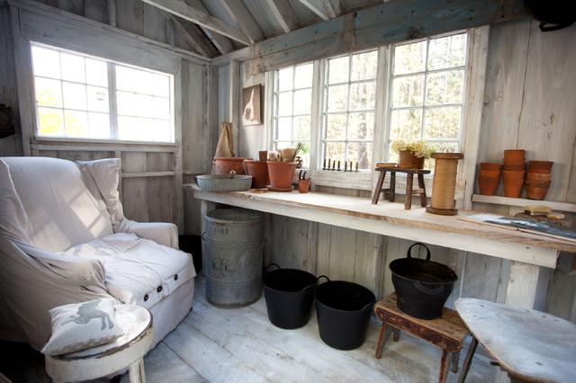 Shy Rabbit Farm Farmhouse Shed Boston By Theresa Fine