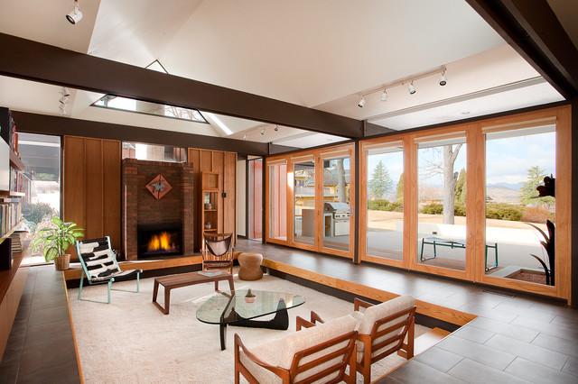 Busch House Living Room Modern Living Room Denver
