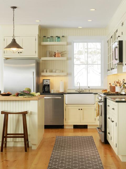 Landmark Meadow Farmhouse traditional-kitchen