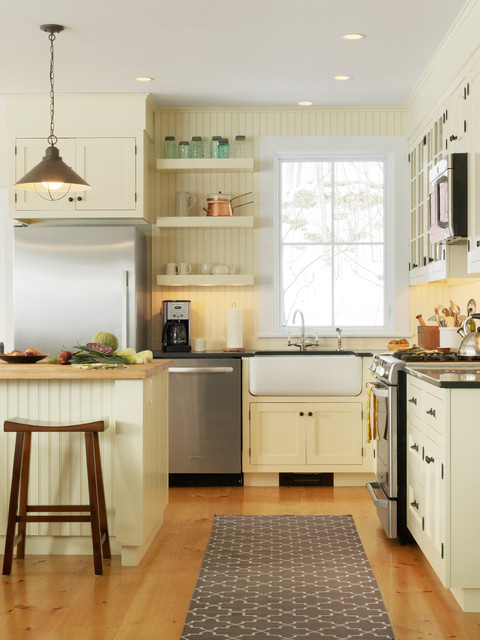 Landmark Meadow Farmhouse traditional-kitchen