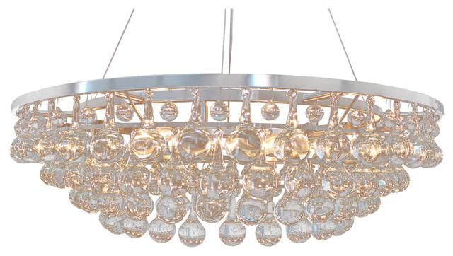 Or402 4 Tier Round Murano Glass Teardrop Chandelier 72 X12 Contemporary