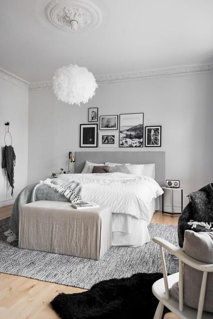 Interior Haga, Gothenburg scandinavian-bedroom