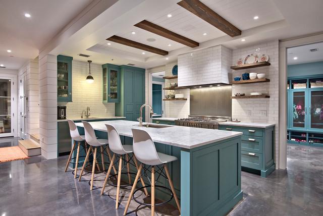 Modern Victorian - Farmhouse - Kitchen - Austin - by Tim ...