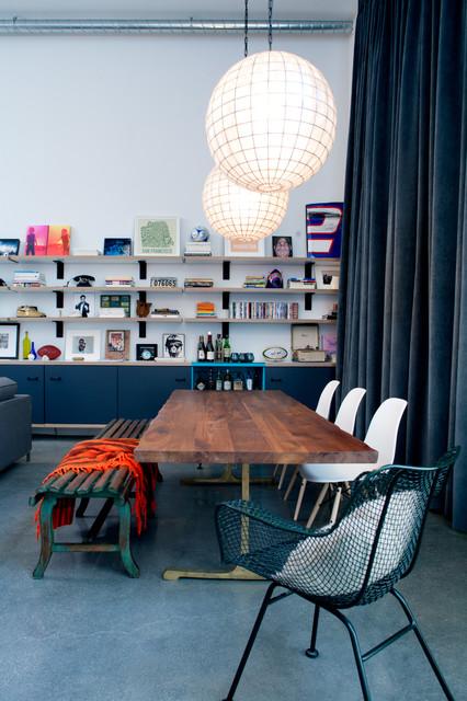 Marina Del Rey, CA eclectic-dining-room
