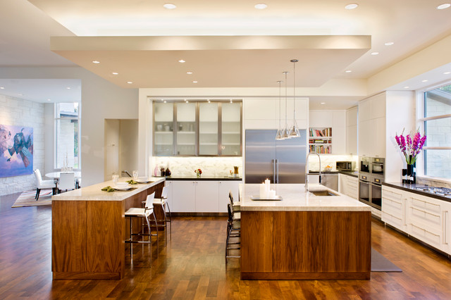 Blanco House Contemporary Kitchen