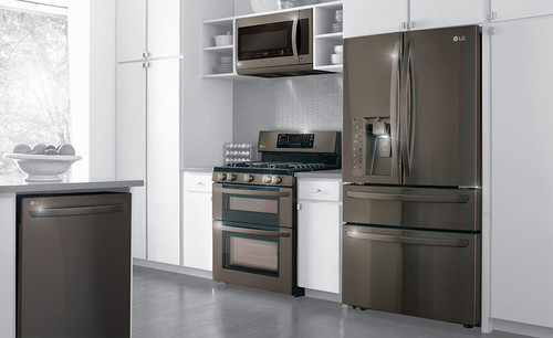 Smudge proof stainless steel appliances
