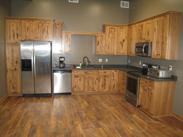 FARM SHOP CHARACTER HICKORY Farmhouse Kitchen Other