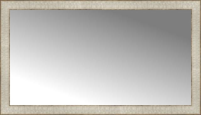 """40""""x23"""" Custom Framed Mirror"""