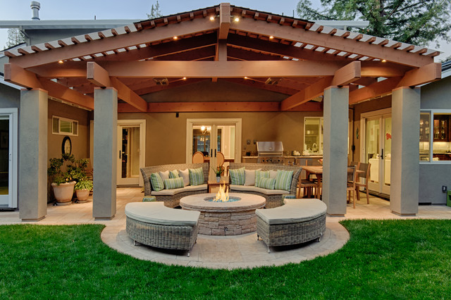 Covered Patio   Traditional   Patio   San Francisco   by Kikuchi       Covered Patio traditional patio