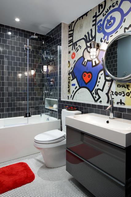 murale pour pimenter votre salle de bains