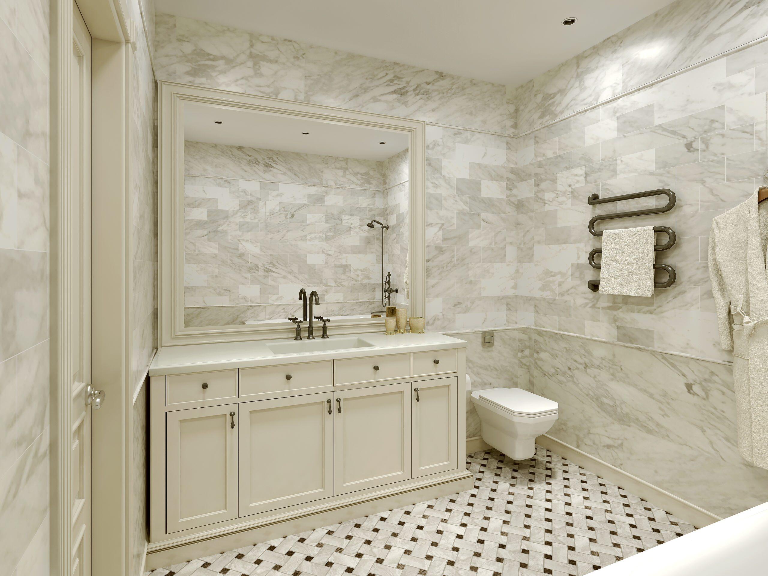https black alexandrite com carrara marble tile bathroom floor