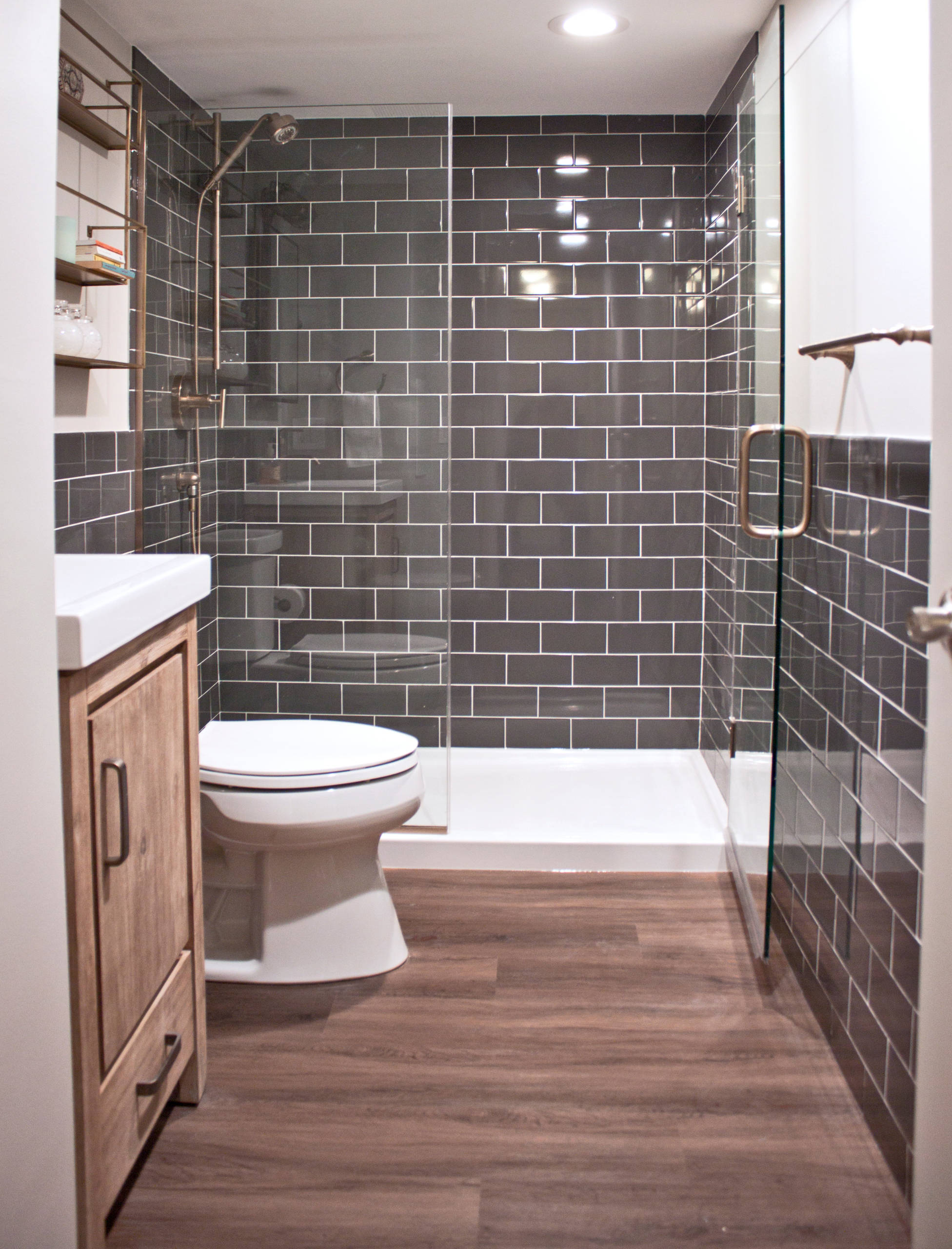 75 beautiful vinyl floor bathroom