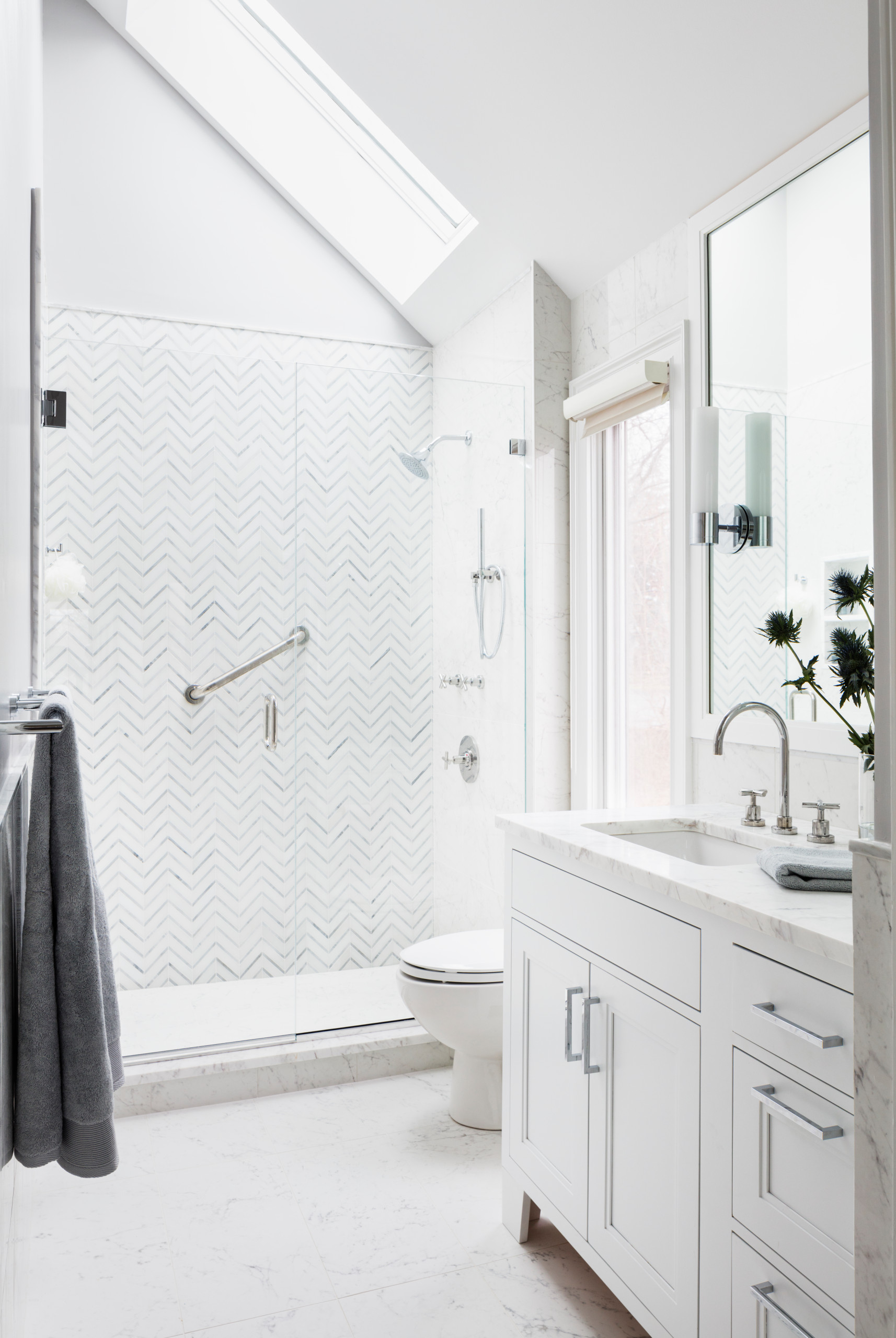 marble tile porcelain tile bathroom