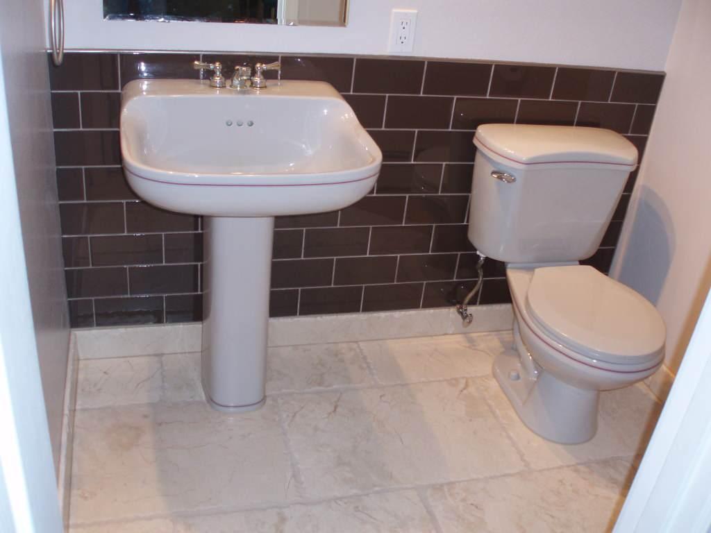half bath tile houzz
