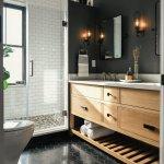 75 Beautiful Black Marble Floor Bathroom Pictures Ideas December 2020 Houzz