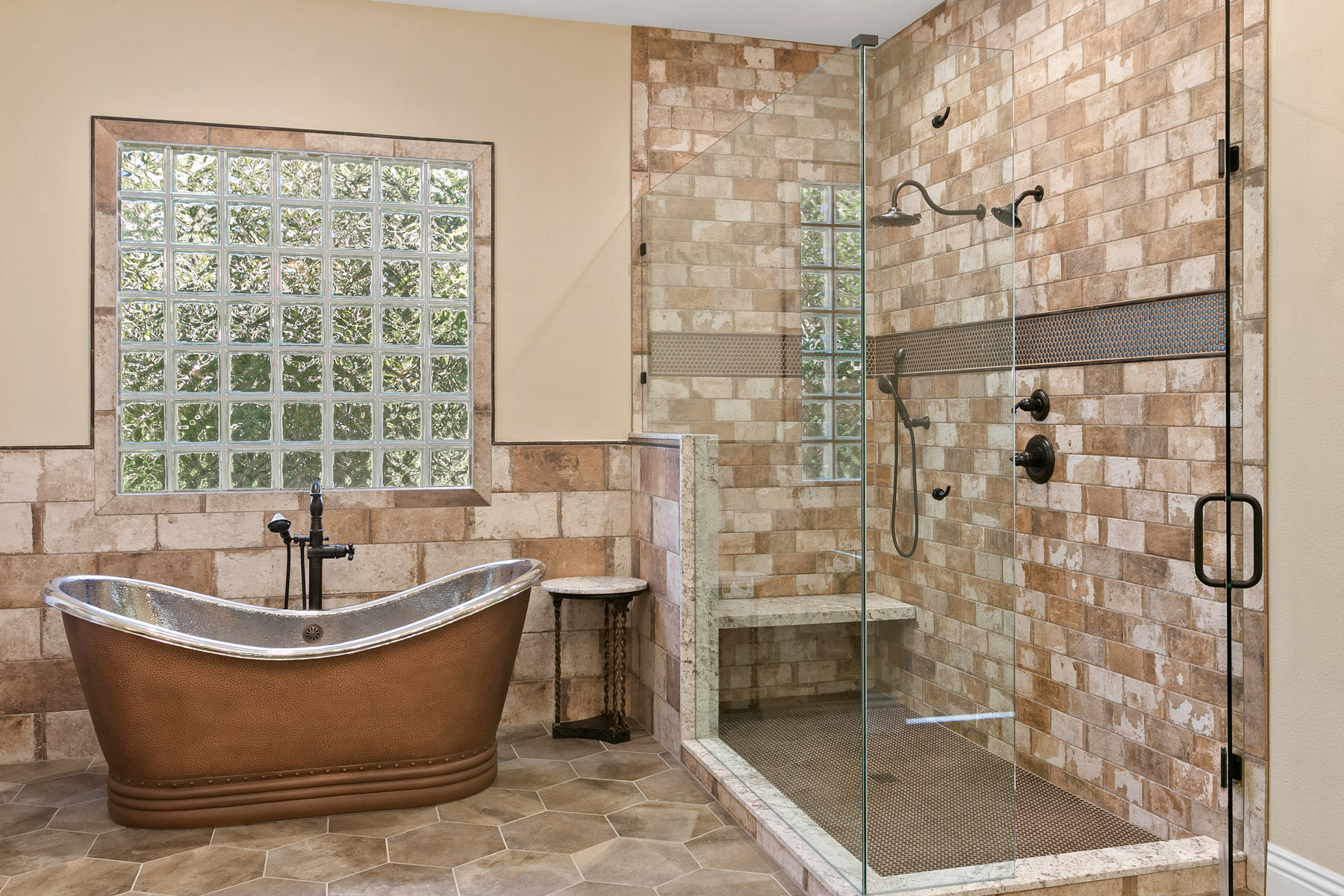shower bench pictures ideas