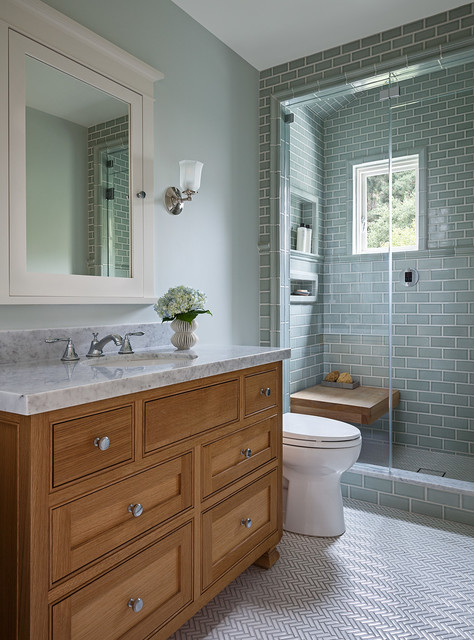 your guide to a craftsman style bathroom