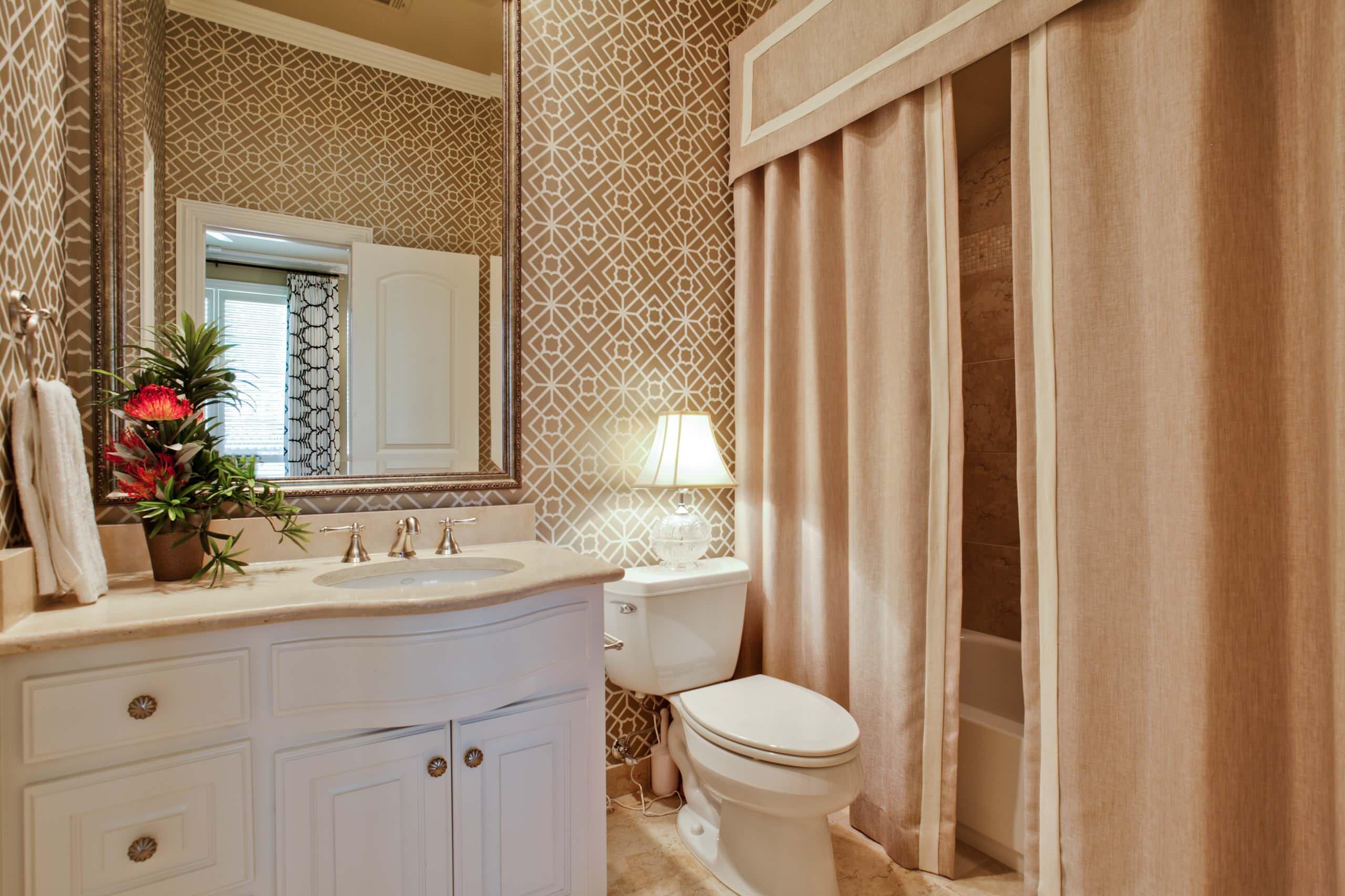 double shower curtain houzz