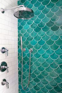 sea mist moroccan fish scale shower