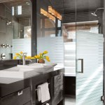Etched Glass Shower Doors Houzz