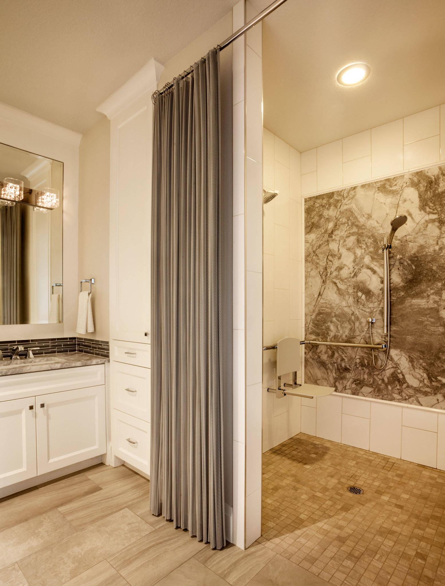 cascade coil shower curtain houzz