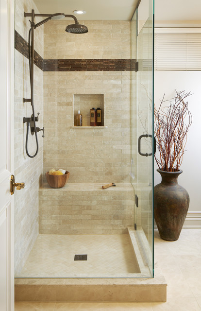 cleaning stone in your shower