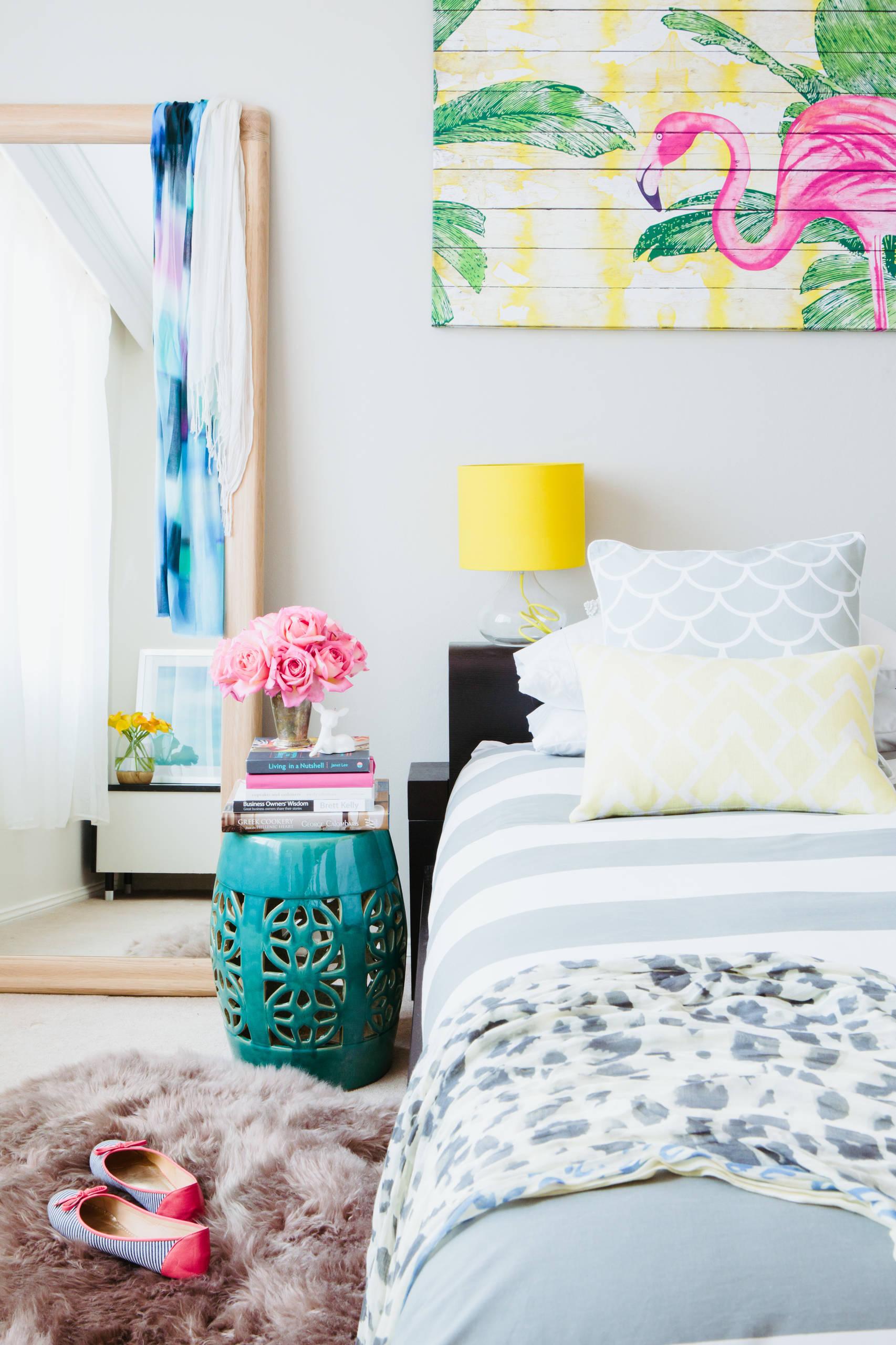 artsy bedroom decorating ideas houzz