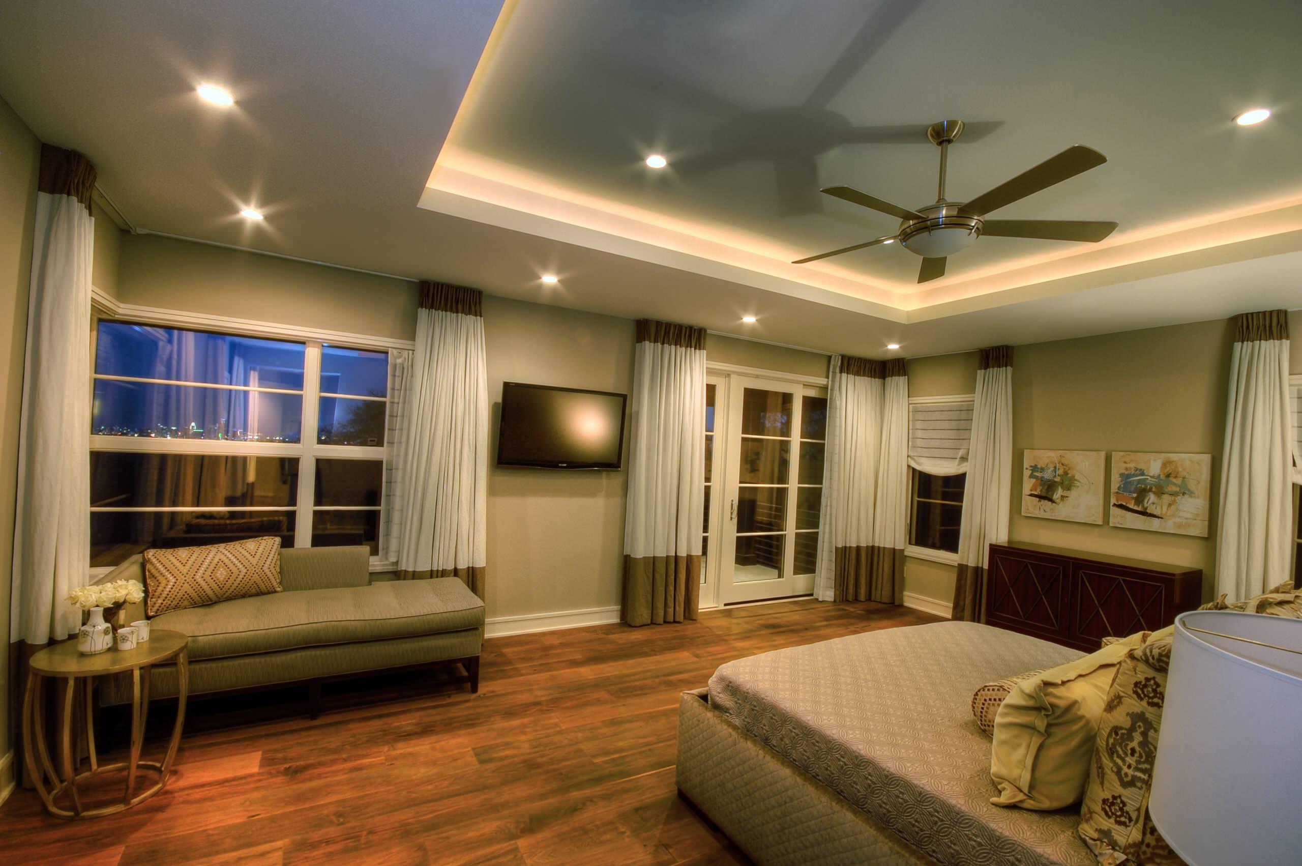 tray ceiling lighting houzz