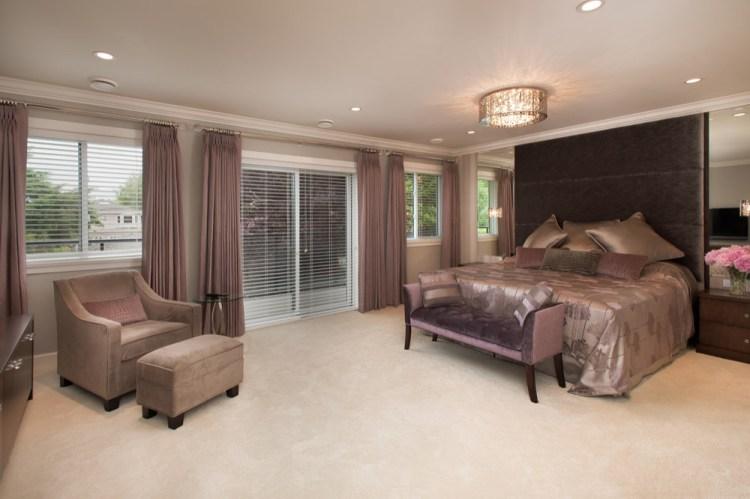 Mauve Bedroom Ideas And Photos Houzz