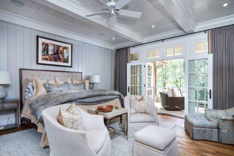 75 Beautiful Rustic Gray Bedroom Pictures Ideas January 2021 Houzz